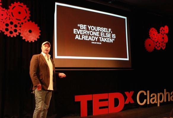 JC Movember TEDxClapham GradLifeLondon